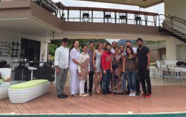 Nueva imagen de Daniel Radcliffe durante su visita a Colombia