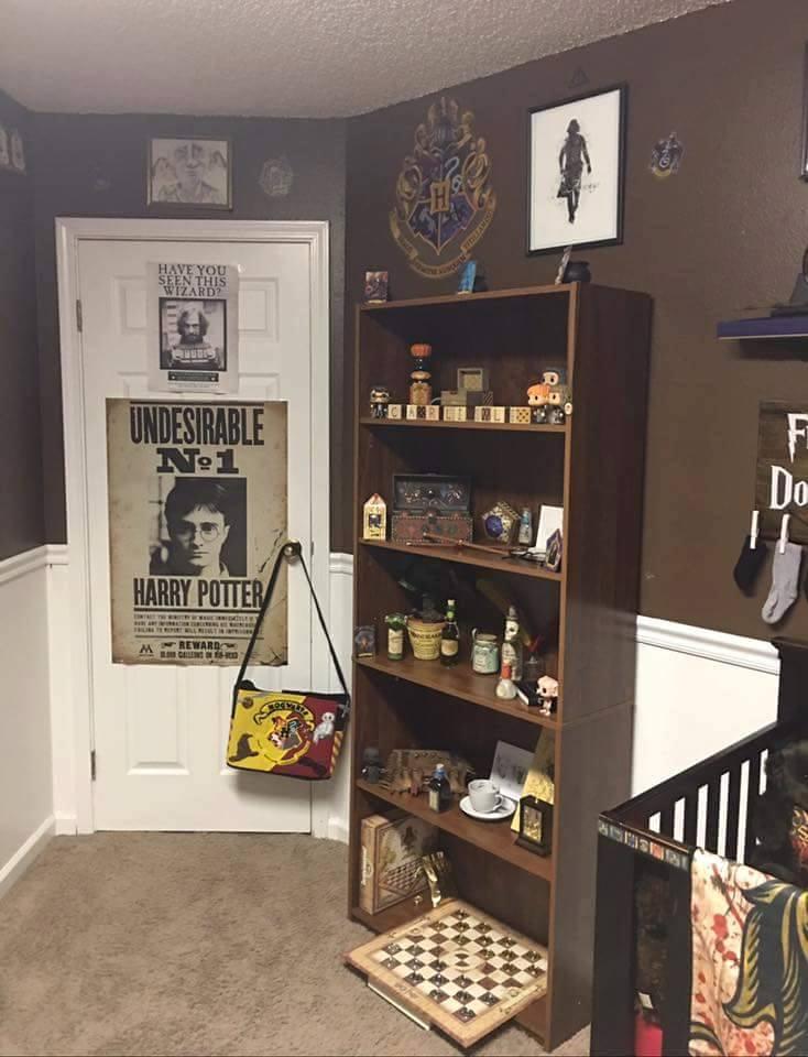 Tienes o esperas un beb mira c mo decorar su habitaci n for Harry potter cuartos decoracion