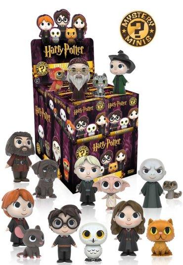 Nuevas figuras Funko de Harry Potter a la venta en julio