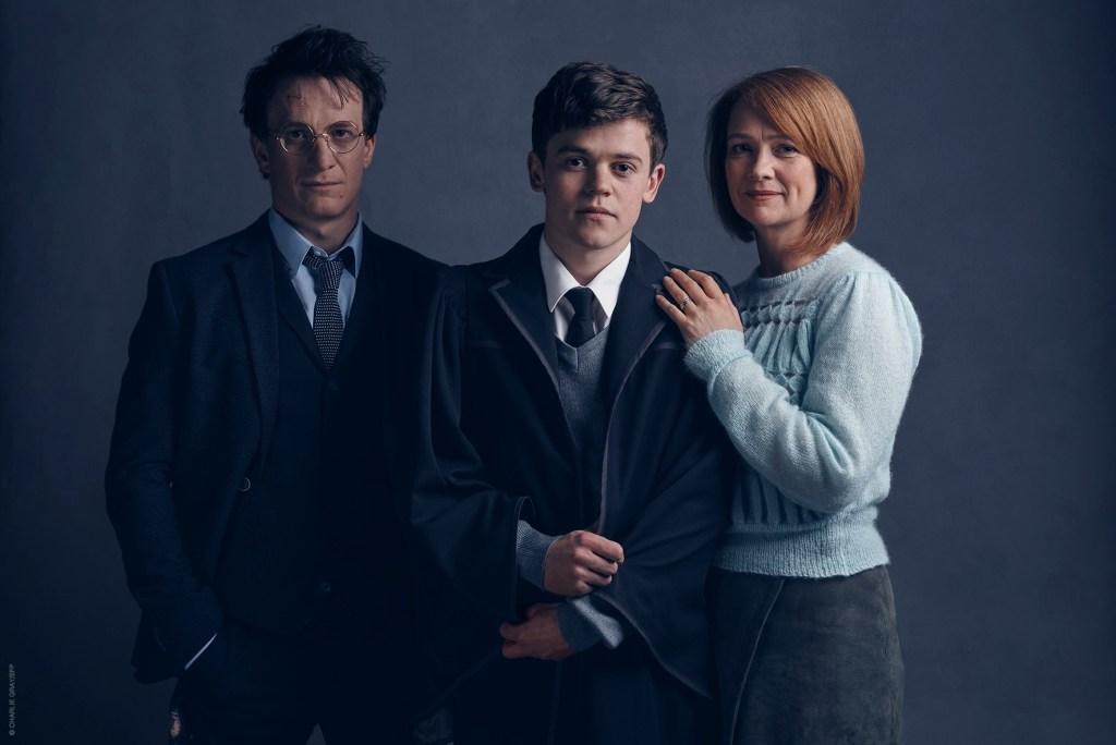 Harry Potter, Albus Severus Potter, Ginny Potter