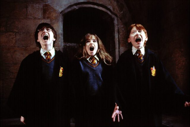 Harry Potter, Ron, Hermione