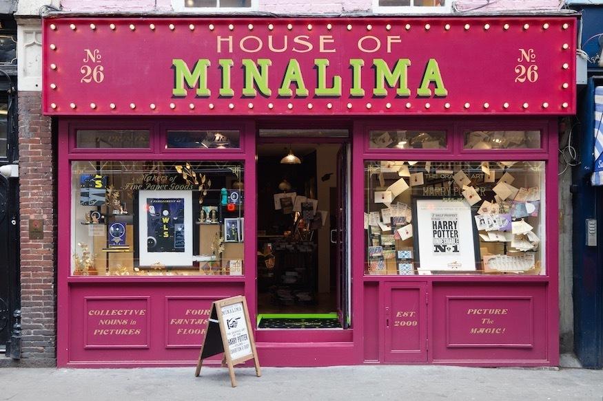 Harry Potter BlogHogwarts MinaLima Londres 2