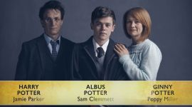Mira el detrás de escena de la sesión fotográfica de 'Harry Potter and the Cursed Child'
