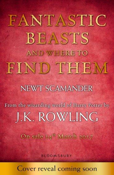 Re-edición de 'Animales Fantásticos' tendrá nuevo prólogo y dibujos de JK Rowling