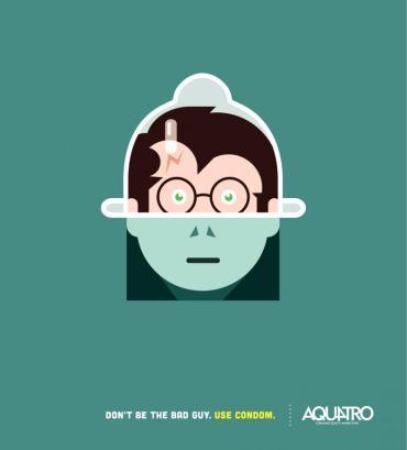 Campaña con Harry Potter y Lord Voldemort para promover el uso del condón