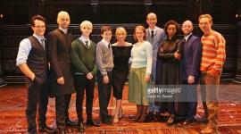 Fotografías de J.K. Rowling con el elenco de Harry Potter and the Cursed Child