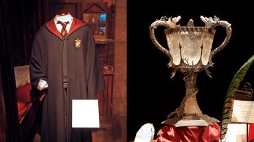 Diseñadora de vestuario 'roba' utilería de las películas de Harry Potter