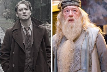 El actor Jude Law  terminó de filmar sus escenas como Albus Dumbledore para 'Animales Fantásticos 2'