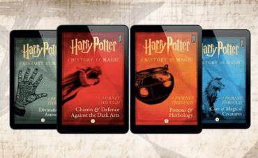 Finalmente: J.K Rowling lanzará cuatro nuevos libros sobre Harry Potter