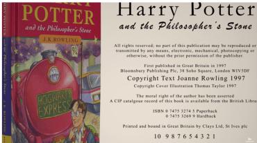 Harry Potter y la Piedra Filosofal: una vieja edición que vale miles de dólares