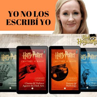 JK Rowling desmiente ser la escritora de los 4 nuevos libros de Harry Potter