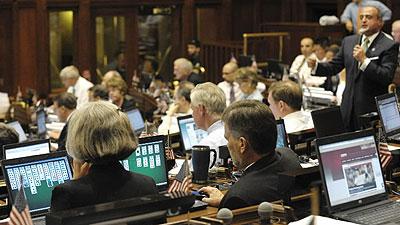 (AP) CT House debates state budget