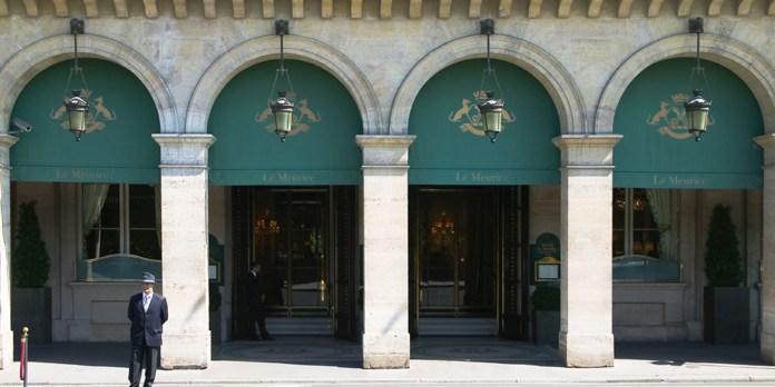 Façade Hôtel Meurice