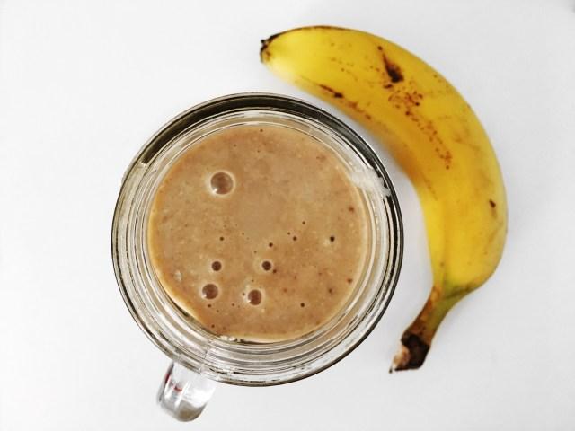 Banaani-kaurasmoothie