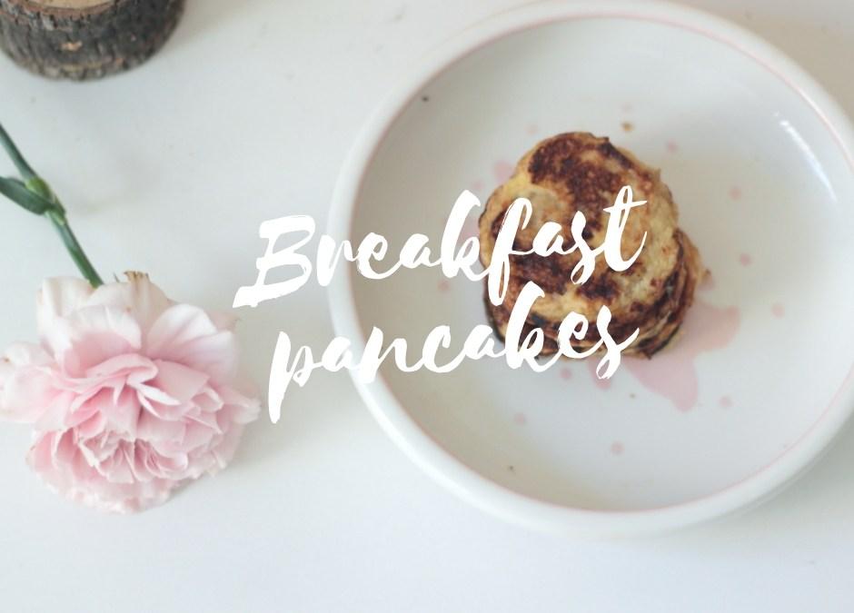 Breakfast Pancakes  – Sormiruokailijallekin soveltuvat aamiaispannukakut (G, M, L)