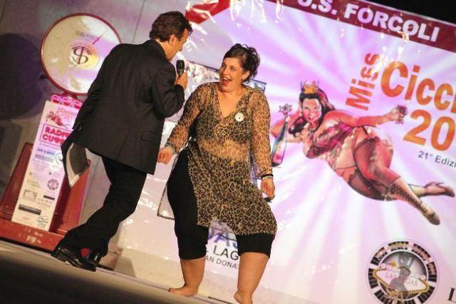 Concurso Miss Gordinha na Itália