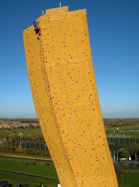 A maior parede de escalada do mundo