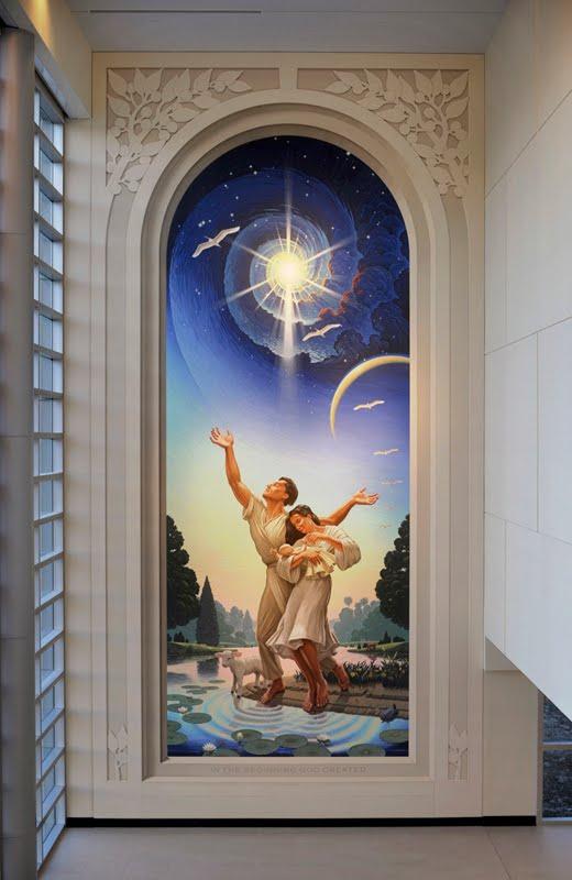 Pinturas 3D super realistas em paredes, por Eric Grohe