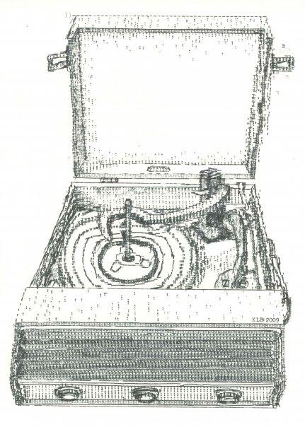 Arte com máquina de escrever