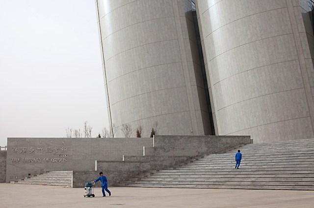 Ordos, na China: uma cidade fantasma moderna