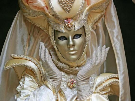 As belas e misteriosas máscaras do carnaval de Veneza