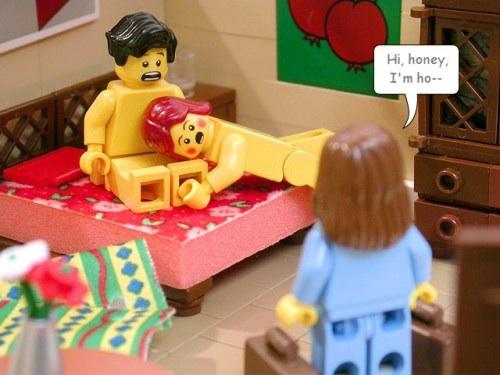 Bonecos de LEGO não são tão inocentes