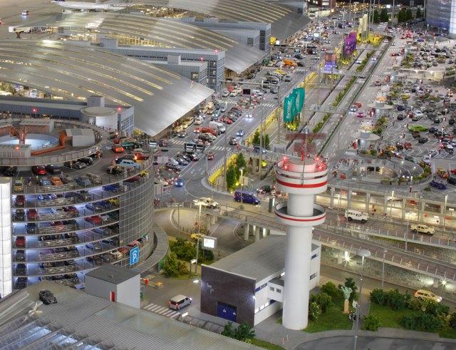 O maior aeroporto em miniatura do mundo