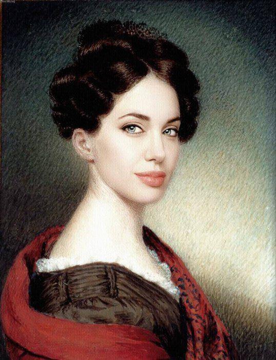 Retratos renascentistas de celebridades modernas