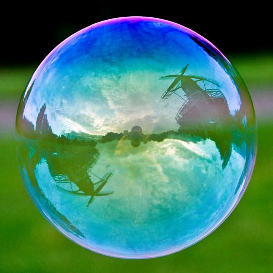 O mundo dentro de bolhas