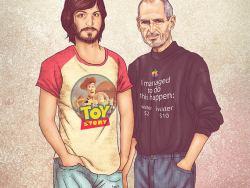 7 ilustrações geniais de celebridades e suas versões mais jovens