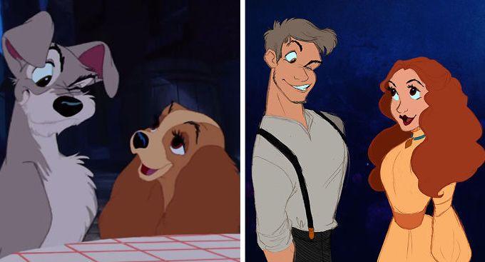 Animais-da-Disney-Humanizados
