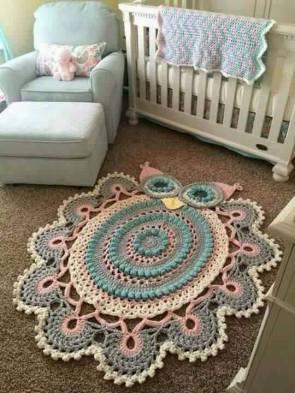 tapetes-de-barbante-de-desenho-corja-grande-rosa-azul-e-cinza