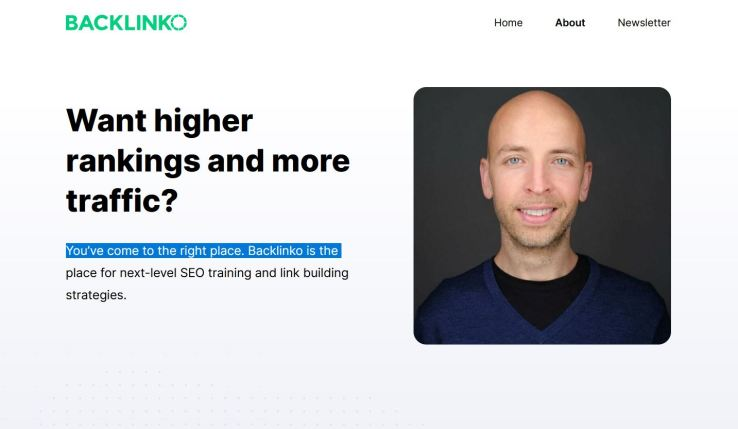 website technology tools used to build backlinko blog