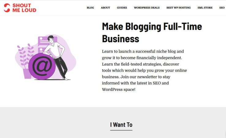 website technology tools used to build shoutmeloud blog