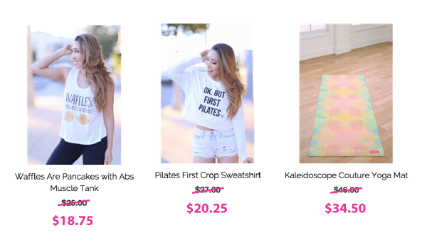 cyber sale 3 products