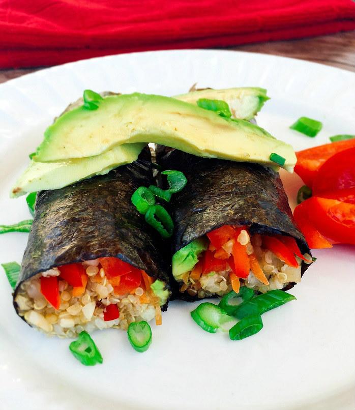 quinoa-cauli-sushi