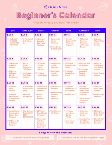Schedule workout routine The Complete