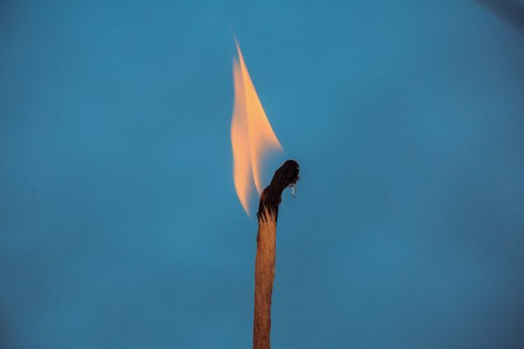 light match fire motivation