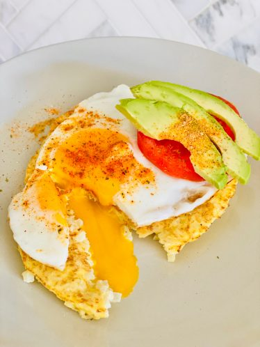 blogilates cauliflower pancake recipe