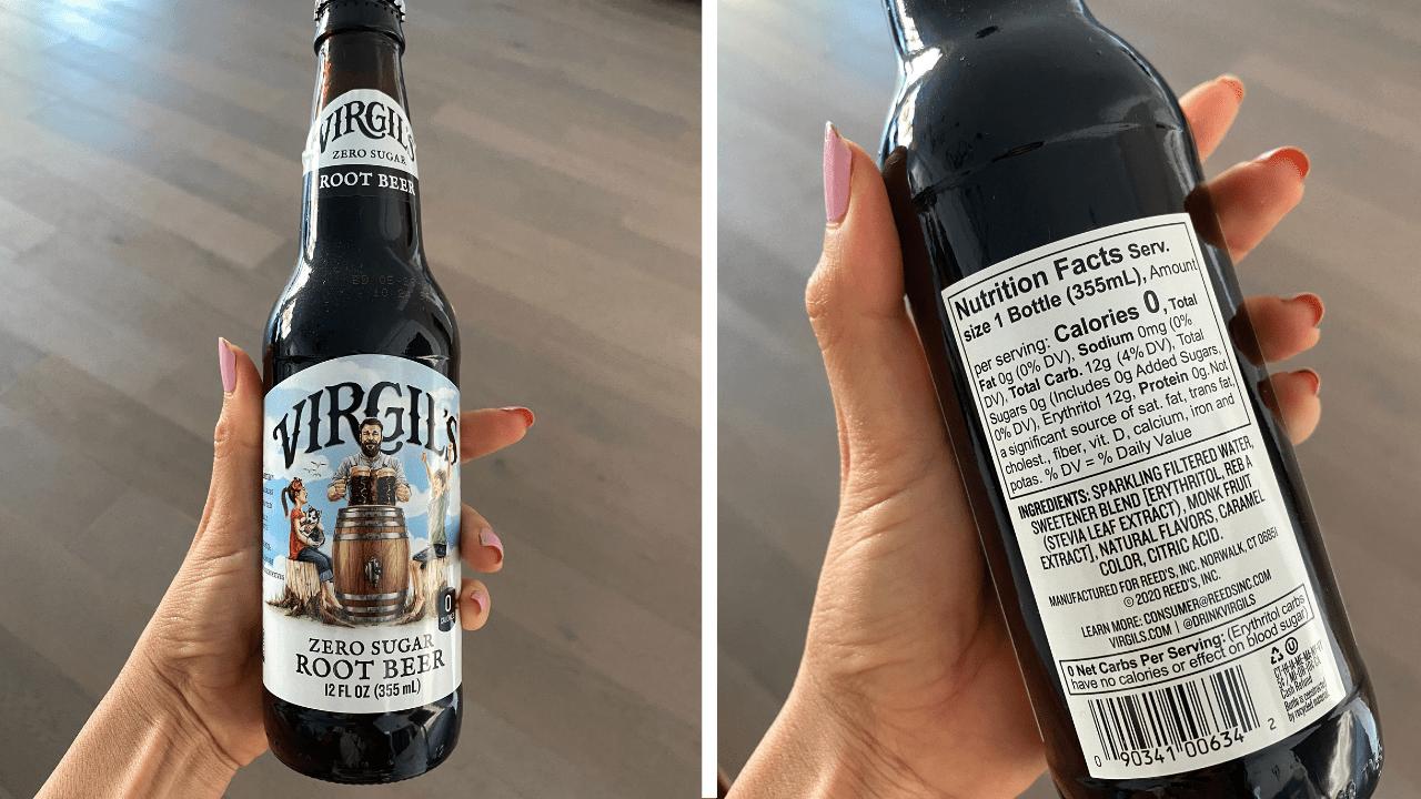 trader joe's zero calorie root beer