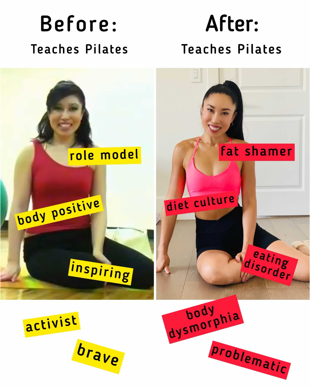 Pilates Before And After : pilates, before, after, Skinny?, This., Blogilates