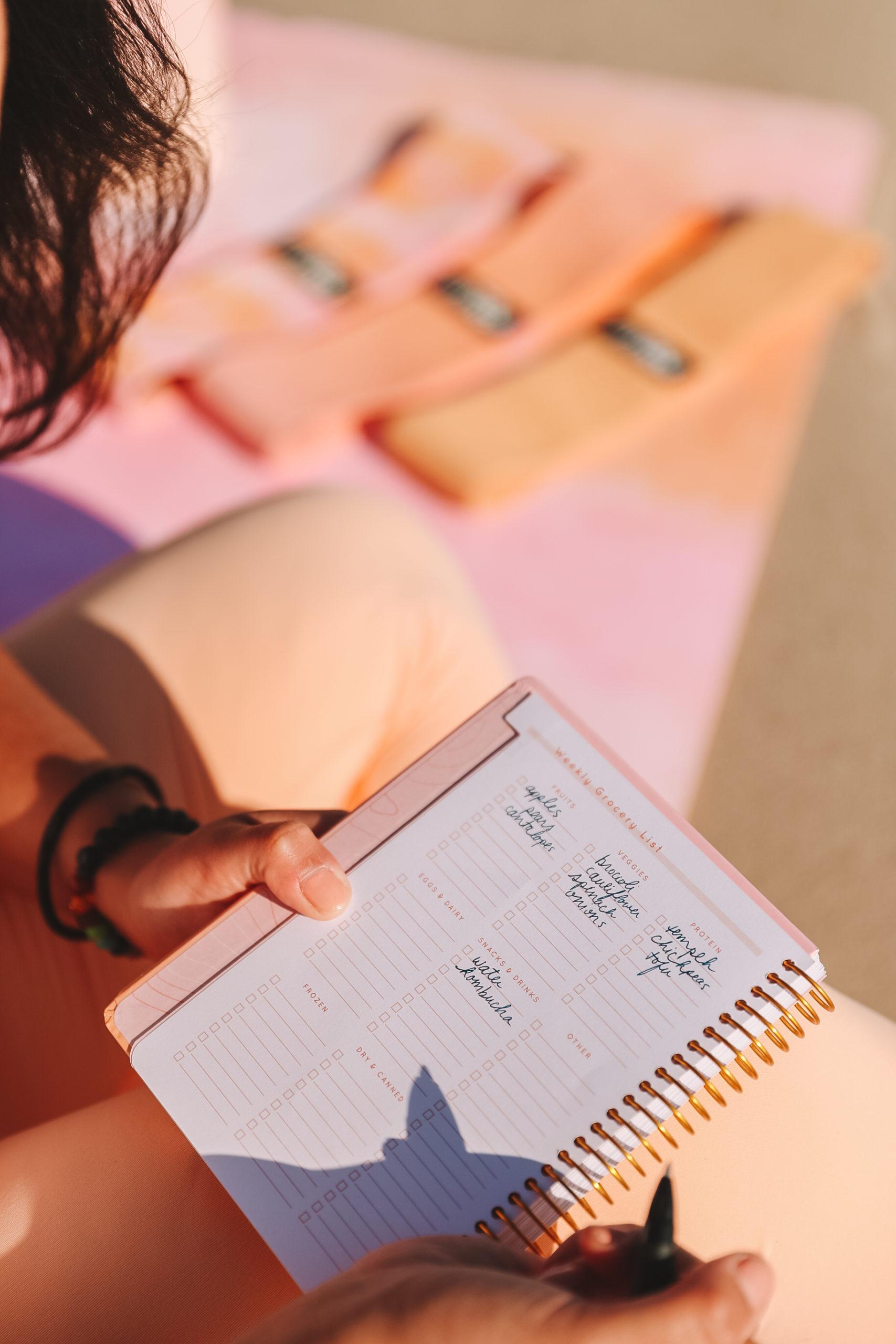 2021 90 day journey journal with writing cassey ho blogilates popflex