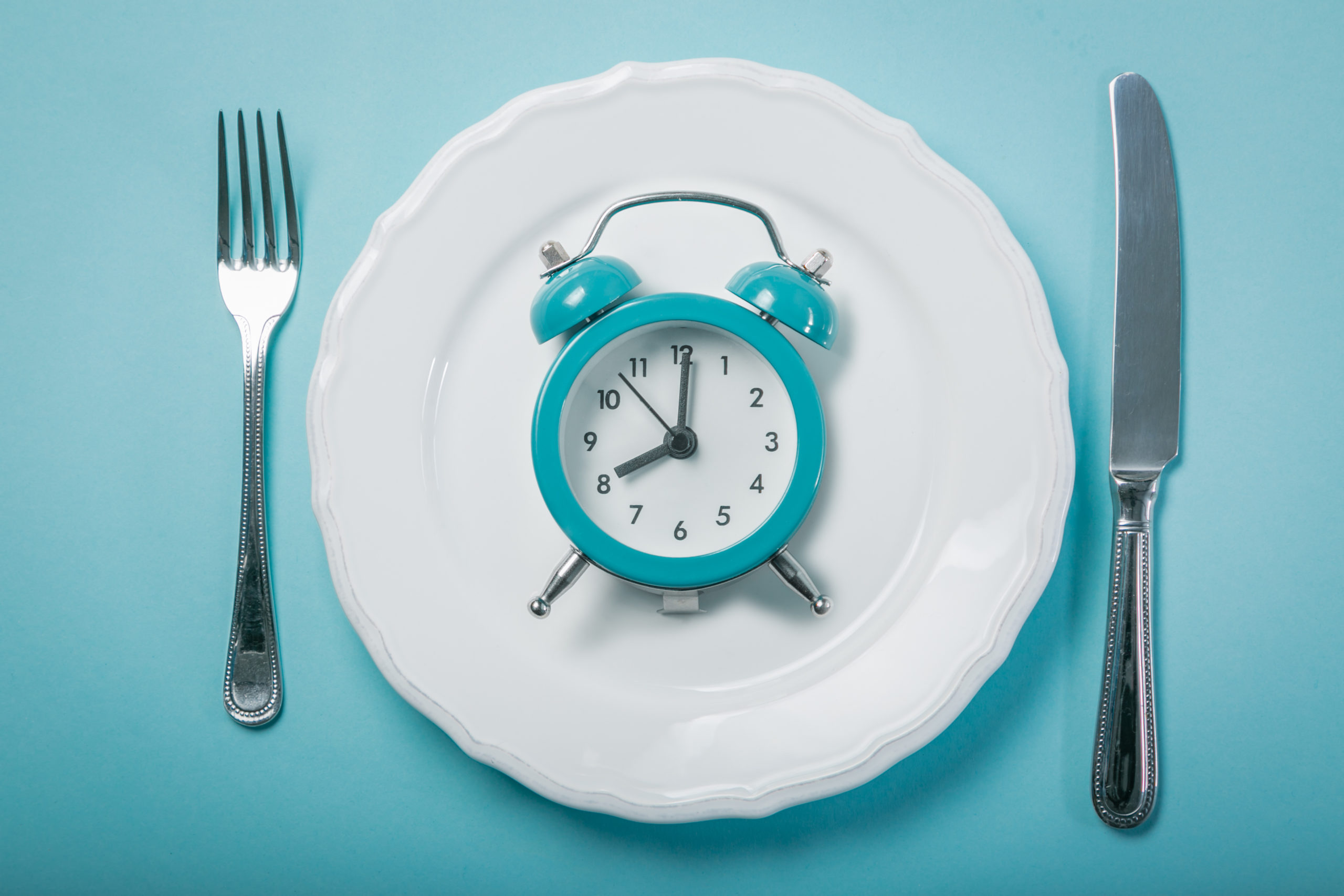 Clock on plate diet rules