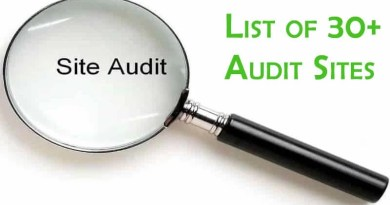 Audit Sites