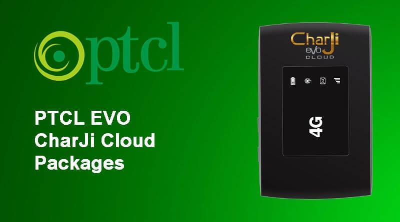 PTCL CharJi Evo Cloud Data Packages