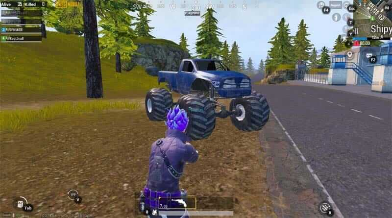 Monster Truck in PUBG Mobile