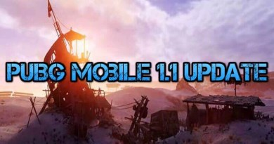PUBG Mobile 1.1 Update What's New in the Game