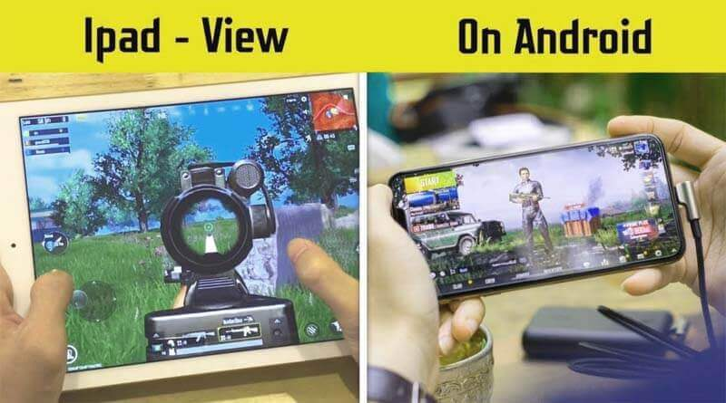 iPad View in PUBG Mobile