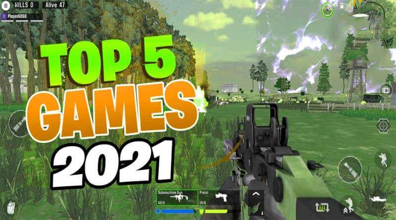 Top 5 Games Like PUBG Mobile in 2021