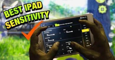 IPad Mini 5 Sensitivity Settings in PUBG Mobile || 100% Recoil Control
